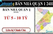 Bán nhà quận 1 HXH Hồ Hảo Hớn, DT 3,6x16m, giá 7.95 tỷ, đã sổ hồng lh 0911985454.