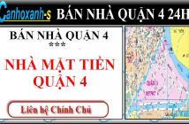 Bán nhà quận 4 MT đường Đoàn Văn Bơ, DT 3,6x17m, , giá 3,2 tỷ, sổ hồng chính chủ lh 0911985454.