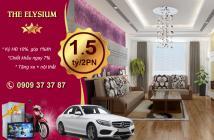 Mở bán căn hộ Elysium Tower, giá tốt nhất Q7, chỉ 10% ký HĐ, CK 7%, góp 0 LS. LH 0909373787