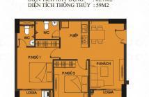 Bán căn hộ diện tích 62,7m2, 2PN, 2 BC, 2WC, giá chỉ từ 1 tỷ trở lại tại khu vực Bình Tân