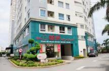 Bán căn hộ chung cư Sacomreal 584 Q.Tân Phú lầu cao view hướng bắc,dt 82m2 2pn 2wc,sổ hồng giá 1.5 tỷ LH A Cương 0909917188