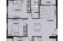 Bán căn hộ cuối năm nhận nhà diện tích 92.4m2 3PN 2WC 2BC giá chỉ 1,5 ty shr