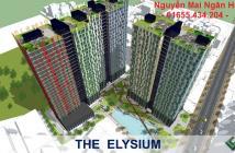 Chính thức giữ chỗ dự án Elysium Tower, ck 4-7%, thuận tiện đầu tư lướt sóng, LH: 01655434204 (Ngân Hà)