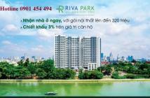 BÁN CĂN HỘ RIVA PARK NHẬN NHÀ Ở LIỀN, NHẬN NGAY ƯU ĐÃI ĐẾN 500 TRIỆU+ CK THÊM 3%, LH 0901 454 494