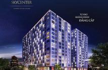 Bán căn hộ Sky Center 2PN mới nhận bàn giao mới 100% DT 74m2 tầng 9 giá 2.9 tỷ Tel 0932709098 A.Lộc