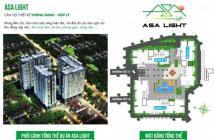 Sang nhượng gấp lốc B 63.45m2 - căn hộ asa light quận 8 cách quận 1 chỉ 2km..LH:0907.549.176