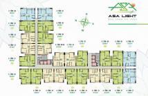 Căn hộ Asa Light quận 8 - suất nội bộ giá tốt nhất chỉ 1,24 căn 2 phòng ngủ - ngay cầu chữ Y..LH:0907.549.176