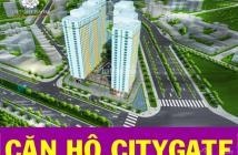 Cho thuê căn hộ City Gate 1, dt 73m2 gồm 2pn + 2wc giá 7tr/th
