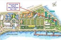 Căn góc 3 phòng ngủ Vinhomes Ba Son, Q1, giá gốc CĐT, 7,3 tỷ. LH 0937 133332