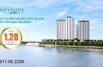 Sài Gòn Riverside City mở bán căn hộ giá chỉ từ 1,2 tỷ/căn, liên hệ: 0911.06.2299