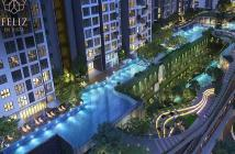 Chuyển nhượng căn 2PN tòa Cruz, Feliz En Vista Q2, tầng cao, view sông, giá 3.9 tỷ. 0901.406.966