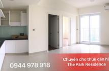 Cho thuê căn hộ The Park Residence LK Q.7, 2PN Block B4 Premier chỉ 8.5tr, bao phí QL 0944 978 918