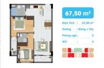 Bán căn hộ chung cư tại dự án chung cư An Lộc, Gò Vấp, Sài Gòn diện tích 65m2, giá 1 tỷ