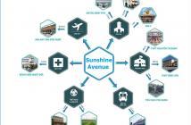 Dự án Sunshine Avenue ngay gần Võ Văn Kiệt, giá chỉ 20tr/m2. LH 0936.779.717