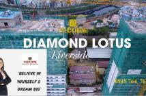 Tiến độ thi công dự án Diamond Lotus Riverside Quận 8, Giá bán 1,9 tỷ/ căn. LH: 0945 764 765.
