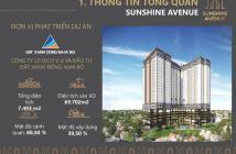 Chính thức nhận đặt chỗ dự án Sunshine Avenue, Quận 8