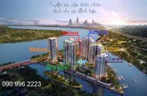 Bán căn hộ 3 phòng ngủ tháp Bora Bora, B-8.08, 117 m2, view sông Sài Gòn, cầu Phú Mỹ, 6 tỷ (có VAT)
