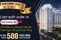 Kingdom 101 căn hộ cao cấp nhất Q10, MT Tô Hiến Thành giao full nội thất, tầng cao chỉ 2,5 tỷ/căn