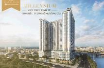 Căn hộ cao cấp Masteri Millennium, 3 PN 108m2 tầng cao view quận 1, giá 6.7 tỷ, LH: 0933639818