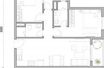 Bán lại hộ M-One Gia Định, căn số 6 có 2 phòng ngủ, bán chênh lại với giá gốc chỉ có 100 triệu