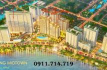 [ Dự án mới Phú Mỹ Hưng ] Midtown giai đoạn 3, thanh toán chỉ 20% khoản 900tr cho đến khi nhận nhà