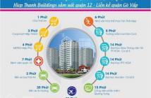 Bán căn 95m2, 3PN, 2WC CC Hiệp Thành Building, giá gốc CĐT chỉ 1.5 tỷ,nhận nhà 2017