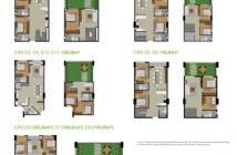Căn hộ duplex, 1 trệt 1 lầu Citizents, khu Trung Sơn, 4PN, ở liền, giao nhà hoàn thiện