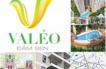 Bán căn 3 phòng ngủ view hồ bơi đẹp nhất Valeo Đầm Sen, Tân Phú. LH: 01234.011.015