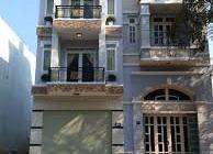 Nhà ngay mặt tiền Hà Duy Phiên_ hóc môn_5x15 giá 1ty500 triệu : 1tret 2lau 3pn,3wc