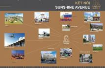 Mở bán căn hộ Sunshine Avenue gần Võ Văn Kiệt, Quận 8, giá 20tr/m2, 50, 60, 70, 78m2, NT hoàn thiện