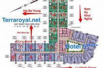 Bán căn hộ Terra Royal khách sạn 5* tại trung tâm quận 3, chỉ với 3,8 tỷ, 58m2, 2PN