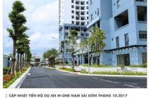 Bán căn hộ M-One 3 phòng ngủ, có 4 máy lạnh, 2 giường nệm, sofa, bàn ăn, giá 2.6 tỷ. 0965232672