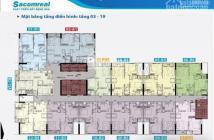 Sacomreal mở bán đợt cuối căn hộ Carillon 5 tầng cao view thoáng. Giao nhà Q3/2018