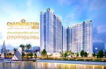 Mở bán T3/2018 căn hộ Charmington Iris, ven sông Quận 4, view Bitexco & Sala. Căn 2PN dự kiến 2.7tỷ
