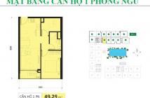 CẦN SANG NHƯỢNG LẠI căn hộ Golden Mansion, 49m2, view hồ bơi, giá 2.2 tỷ