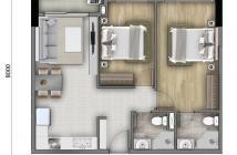 Cần bán căn hộ Botanica Premier, 2 phòng ngủ, 2WC, bancon, view sân bay, giá 2 tỷ 600 triệu