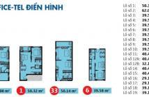 Bán officetel hướng đông bắc, lầu 3, bao tất cả chi phí, Kingston Residences