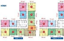 Bán căn hộ The Sun Avenue ngay mặt tiền Mai Chí Thọ, 2PN, 2.2 tỷ