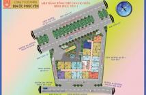 Cần chuyển nhượng căn hộ Phúc Yên 3, giao nhà tháng 9/2018, giá rẻ cực hot, LH: 0917188879