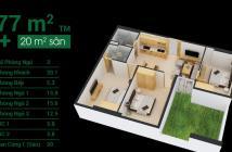 Sở hữu ngay căn hộ sân vườn đầu tiên tại Q. 12, tặng trọn bộ nội thất cao cấp Toto và 20m sân vườn