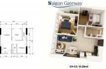 Chỉ còn 5 căn góc đẹp nhất dự án Sài Gòn Gateway, MT Xa Lộ Hà Nội, hướng ĐN cực mát