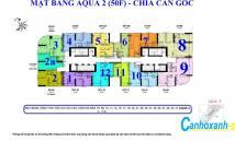 15 căn hộ Aqua 2, Vinhomes Golden River Quận 1, Căn số 07, 2PN, DT 78,5m2, giá 6,9-7,3 tỷ