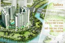 Bán căn hộ Sadora-Sala, 120m2-3PN, view trực diện hồ bơi, nội thất cao cấp, giá 6 tỷ. 0909.038.909