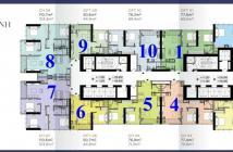 22 căn hộ Luxury 6, Vinhomes Golden River Quận 1, Căn OT01, 2PN, DT 77,6m2, giá 7,1-7,5 tỷ
