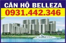 Bán căn Belleza dt 127m2, 3pn + 2wc, full nội thất, view cao Đông Nam giá 2.350tỷ