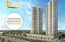 Bán căn hộ 1PN - Masteri An Phú, 51.9m2, B.2x.12b, giá 2.6 tỷ (có TL). LH 0906626505