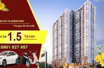 Mở bán căn hộ mở 52m2 Pegasuite 2, giá từ 1,4 tỷ/căn, ký HĐ 10%, góp theo tiến độ, ngân hàng hỗ trợ vay 70%. LH 0901 827 857