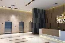 Cho thuê căn hộ The Gold View quận 4 với 2pn có bếp, máy hút mùi, tủ quần áo, rèm giá 14triệu/tháng