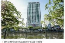 VP Millennium Quận 4 mặt tiền Bến Vân Đồn cơ hội đầu tư cực tốt, giá từ 2 tỷ/ căn, SH lâu dài