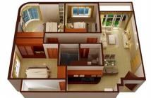 Bán lỗ căn hộ căn hộ Âu Cơ Tower, Q.Tân Phú, 87m2 /3pn/2wc rẻ hơn giá chủ đầu tư, LH: 0931423545